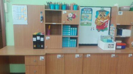 рабочее место воспитателей